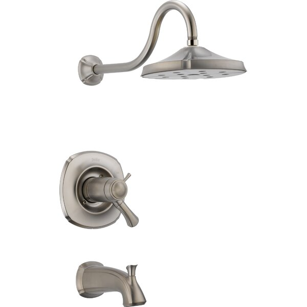 Addison Diverter Tub and Shower Faucet Trim with Lever Handles and TempAssure by Delta Delta