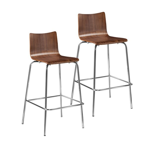 Blence 29.5 Bar Stool (Set of 2) by Holly & MartinBlence 29.5 Bar Stool (Set of 2) by Holly & Martin