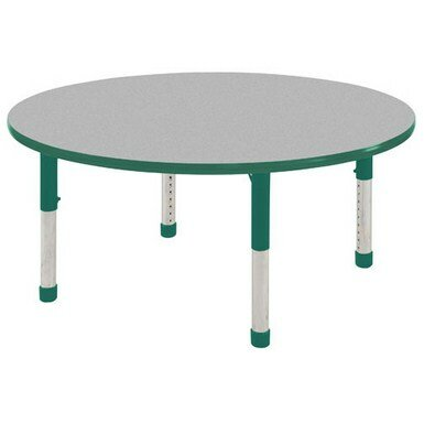 Thermo-Fused Adjustable 48 Circular Activity Table by ECR4kids
