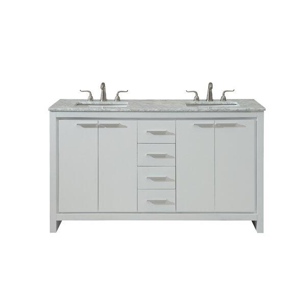 Easterling 60 Double Bathroom Vanity Set by Ebern Designs