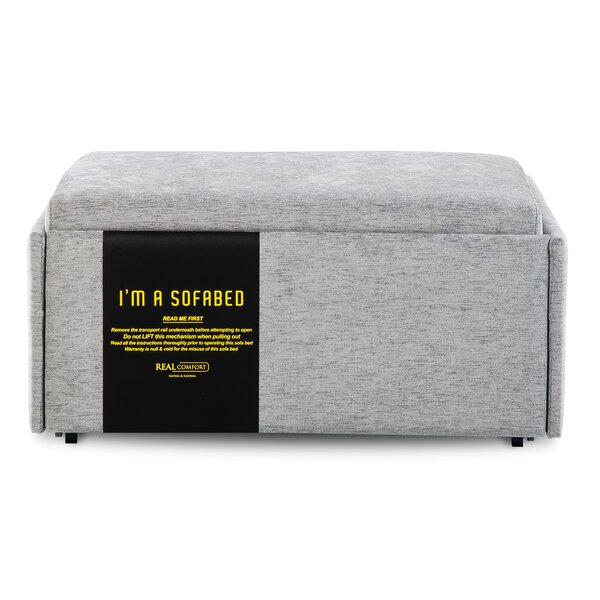 Sleeper Pull Out Bed Ottoman by Harper&Bright Designs