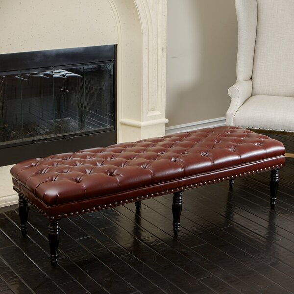 Pals Tufted Bench by Alcott Hill