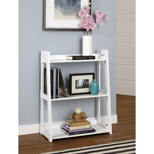 Wide Ladder Bookcase