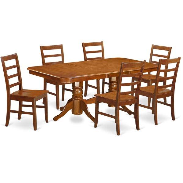 Pillsbury Modern 7 Piece Wood Dining Set by August Grove