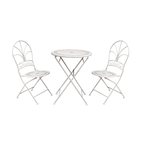 Jacobi 3 Piece Bistro Set by Winston Porter