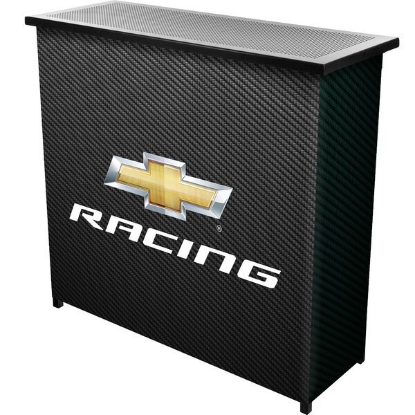 Chevy Racing Portable Home Bar by Trademark Global