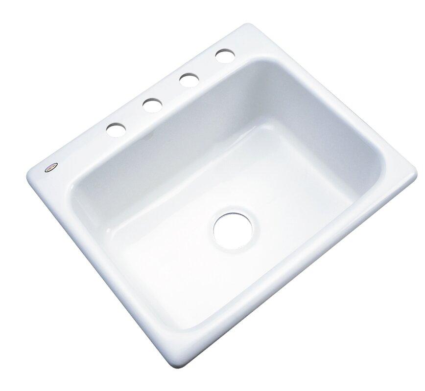 Kitchen Sink 25 X 22 Solidcast madison 25 x 22 kitchen sink reviews wayfair madison 25 x 22 kitchen sink workwithnaturefo