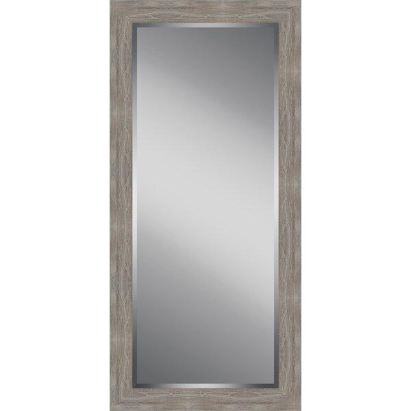 Wood Framed Beveled Plate Glass Full Length Mirror by Ashton Wall Décor LLC