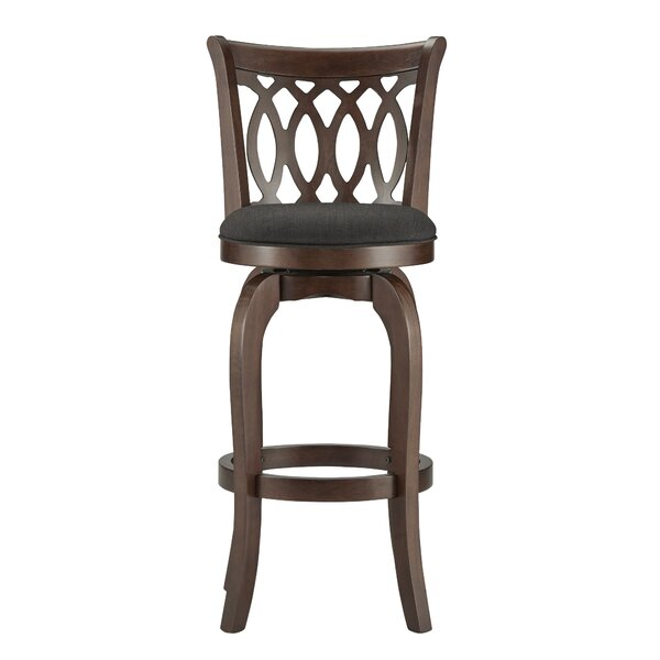 Heartwood 29 Swivel Bar Stool by Three Posts