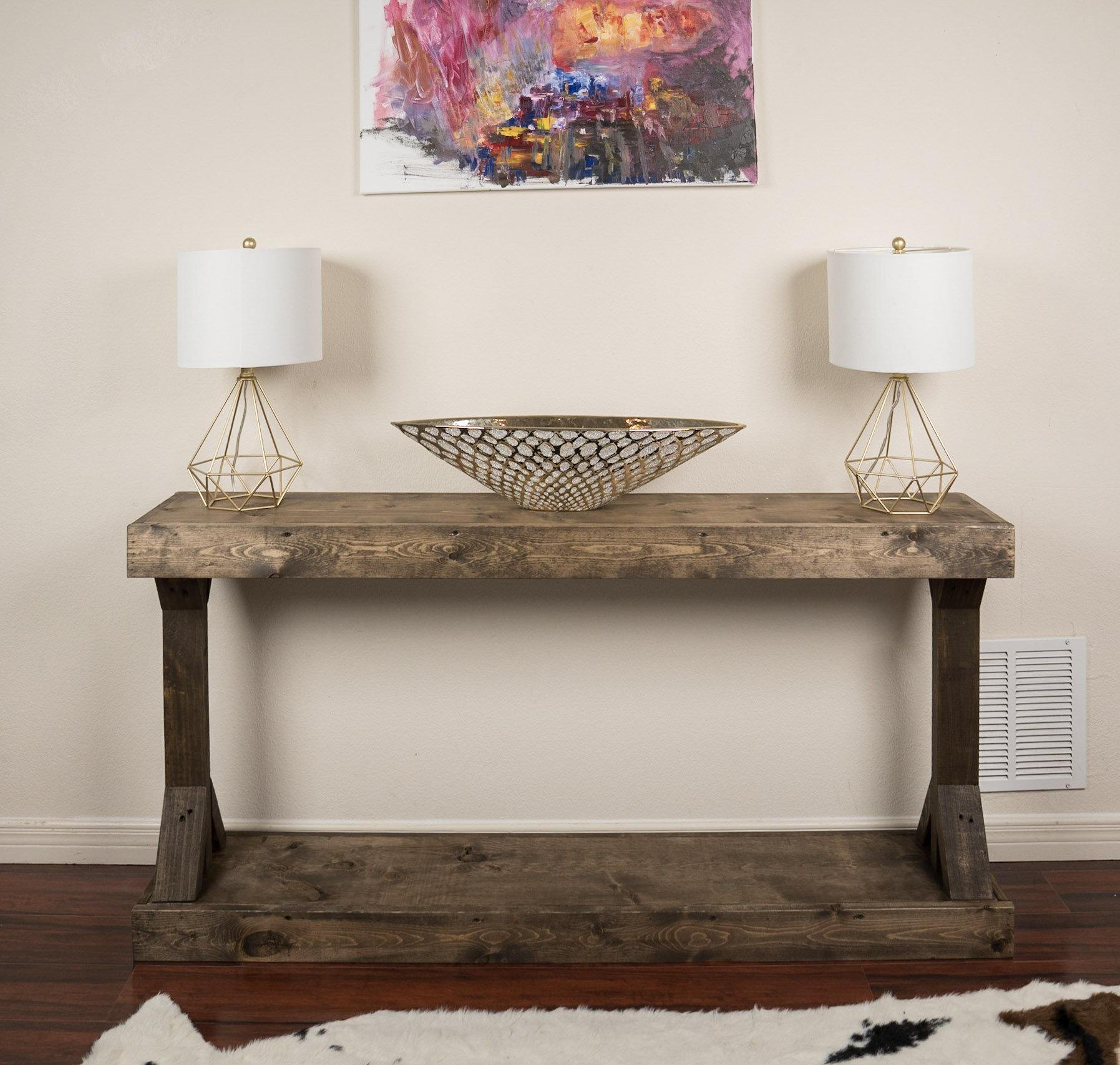 Enjoyable Tybalt 60 Solid Wood Console Table Cjindustries Chair Design For Home Cjindustriesco