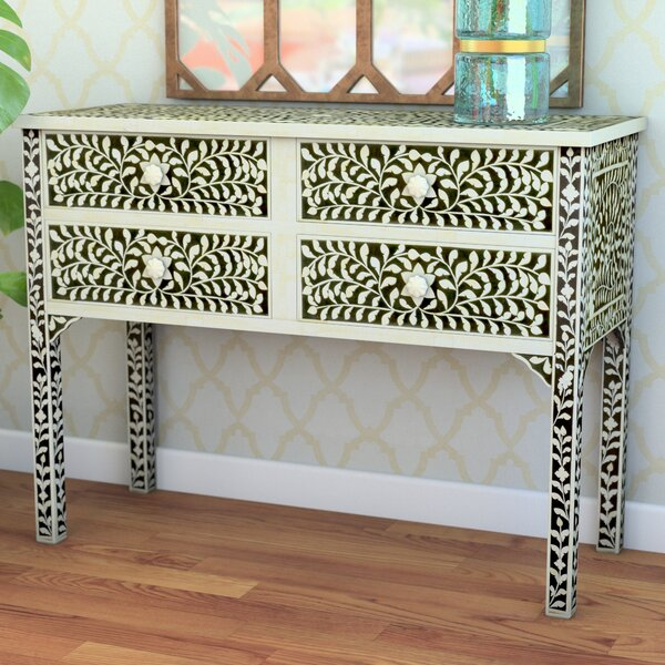Irvington 4 Drawer Accent Chest by Bungalow Rose