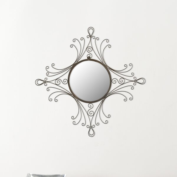 Elegance Wall Mirror by Andover Mills