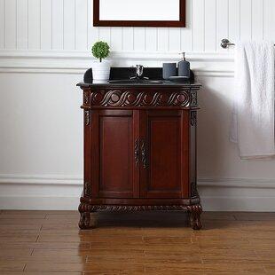 cherry wood bathroom vanity wayfair rh wayfair com cherry bathroom vanity lowes 36 Bathroom Vanity