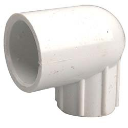PVC Sch. 40 90 Reducing Female Elbows by GenovaProducts
