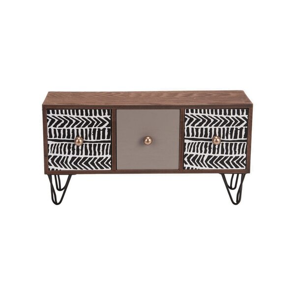 Glendive 3 Drawer Accent Chest by Bungalow Rose