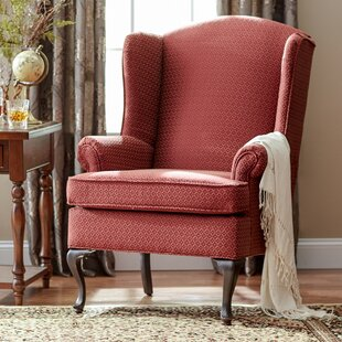 Low priced Palmdale Wingback Chair By Three Posts