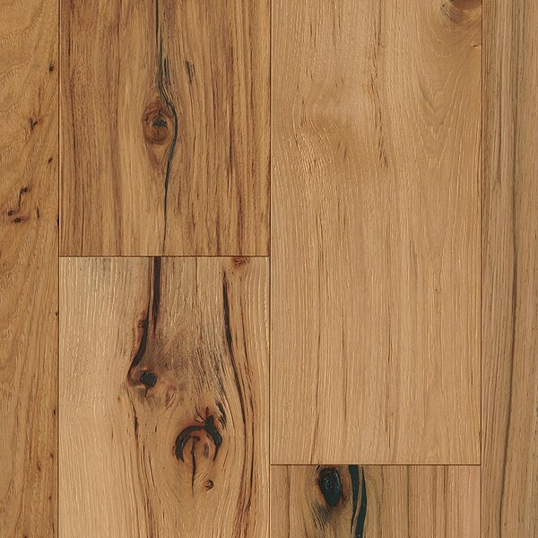 7-1/2 Engineered Hickory Hardwood Flooring in Deep Etched Natural by Armstrong Flooring