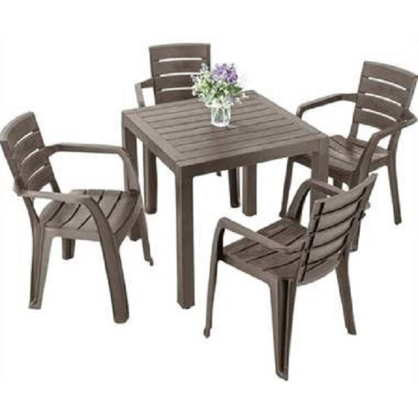 Zarmayr 5 Piece Dining Set by Latitude Run