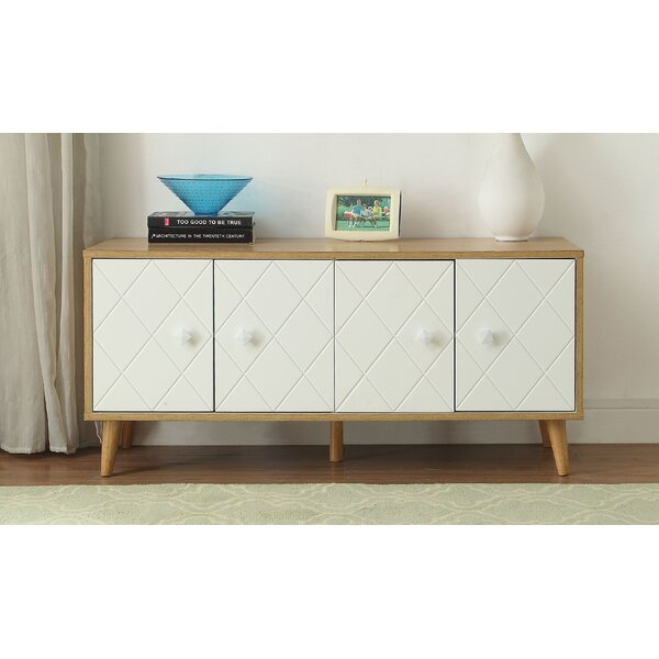 Sayers 4 Door Accent Cabinet by George Oliver George Oliver