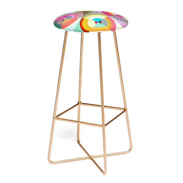 Sharon Turner New York Beauty 30 Bar Stool by East Urban Home
