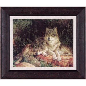 Soulmates by Larry Fanning Framed Photographic Print by Art Effects