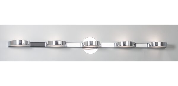 Slimline 5-Light Wall Light by Illuminating Experi