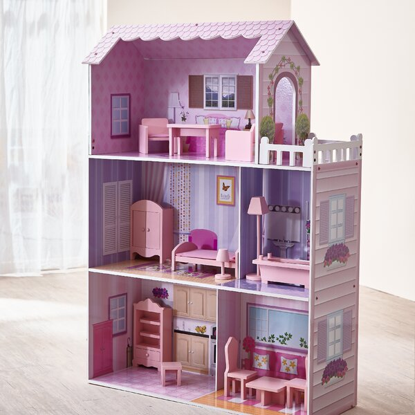 Fancy Mansion Doll House By Teamson Kids.