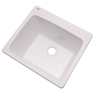 Wakefield 25 L X 22 W Single Laundry And Utility Sink