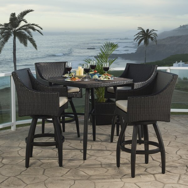 Northridge 5 Piece Bar Height Dining Set by Three