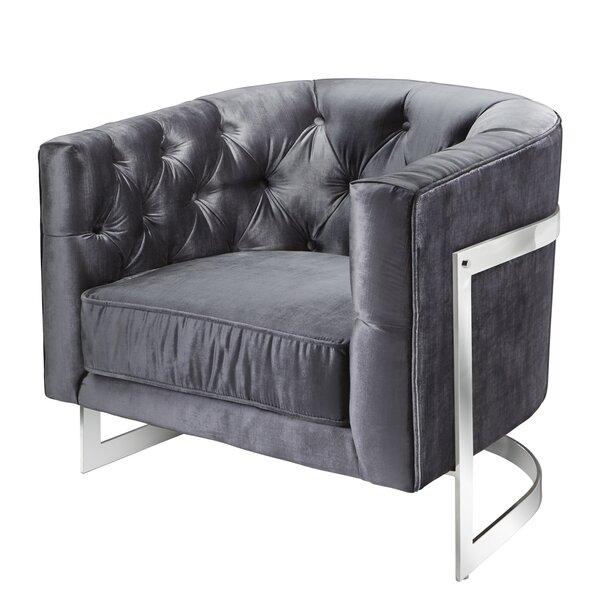 Kincheloe Barrel Chair by Everly Quinn