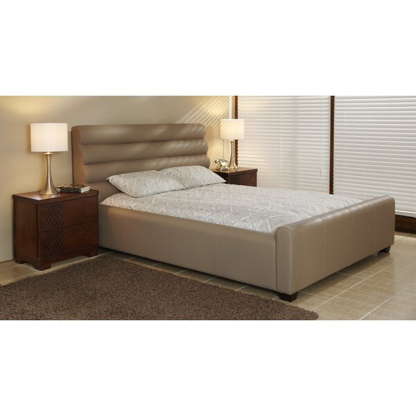 Upholstered Platform Bed by Lind Furniture