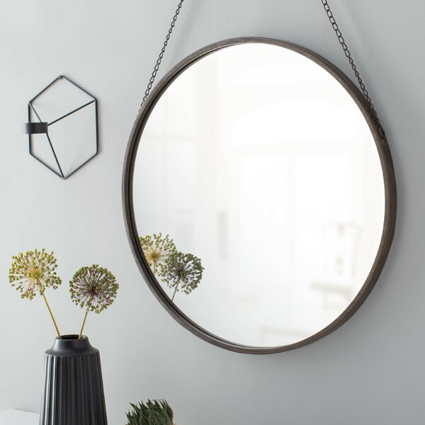 Hardison with Chain Hanger Accent Mirror by Three Posts