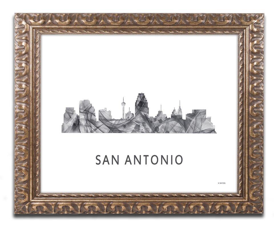 Colorful Framed Texas Art Elaboration - Ideas de Marcos ...