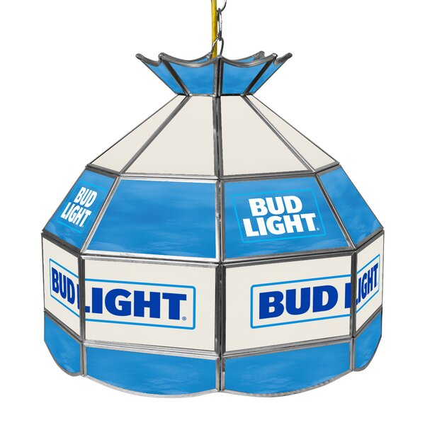 Bud Light 16 Budweiser Tiffany Light Fixture by Trademark Global