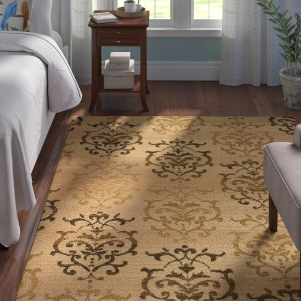 Fitchett Ivory Area Rug by Andover Mills