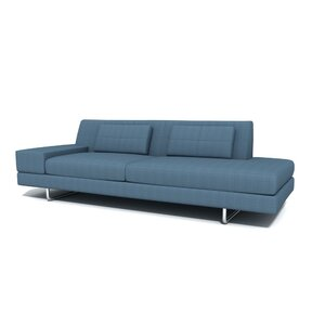 Hamiln One Arm Sofa with Chaise by TrueModern