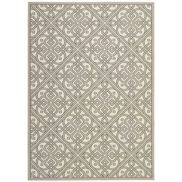 Sun n' Shade Stone Indoor/Outdoor Area Rug by Waverly
