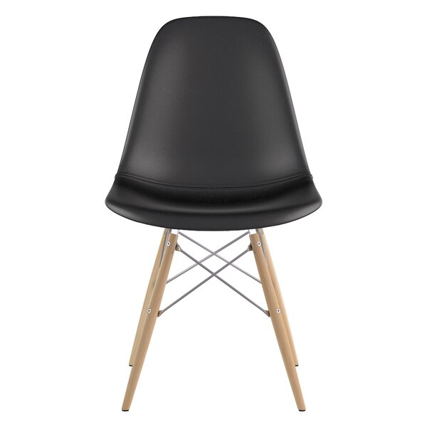 Otho Leather Upholstered Side Chair By George Oliver