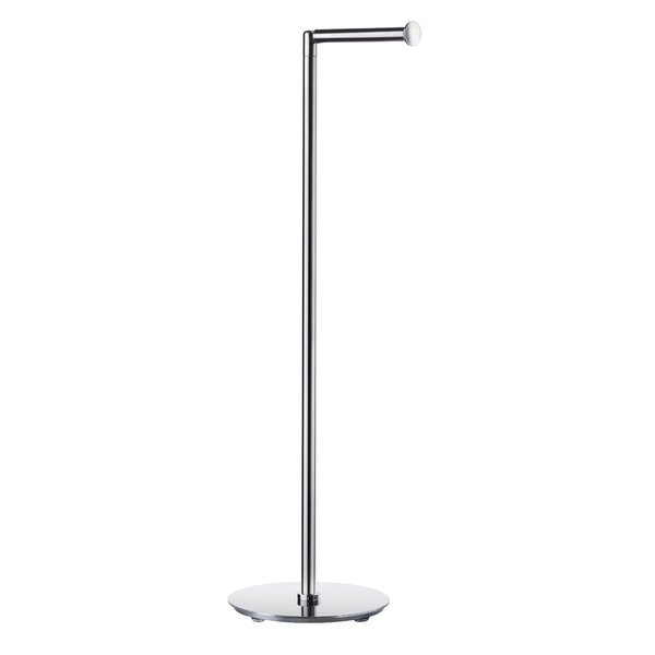 Outline Lite Hinged Spare Freestanding Toilet Paper Holder by Smedbo