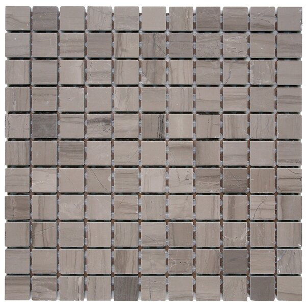 Haisa Marble Mosaic Tile in Haisa Dark by Solistone