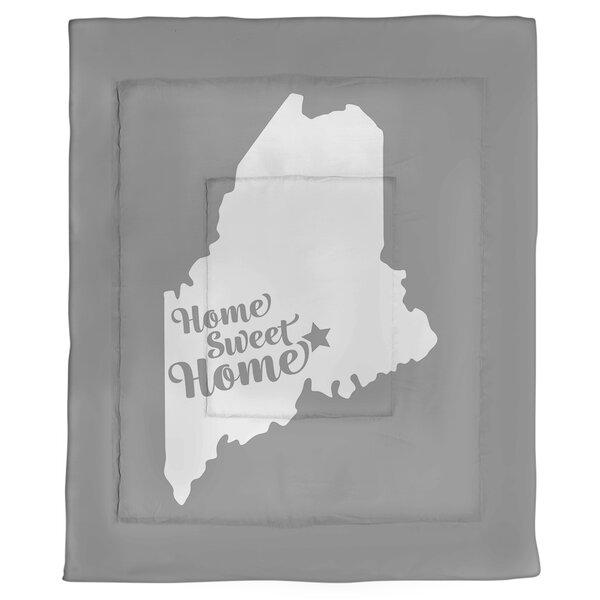 Home Sweet Bangor Single Reversible Comforter
