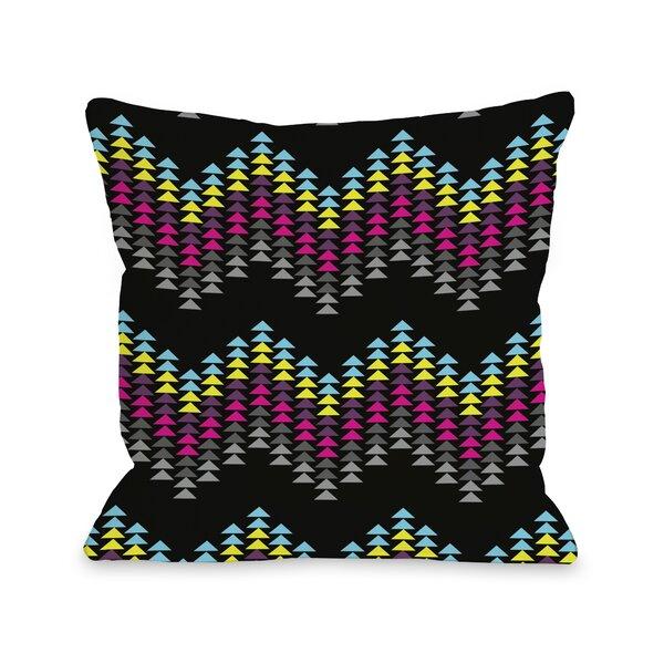 Ziggy Triangle Throw Pillow by One Bella Casa