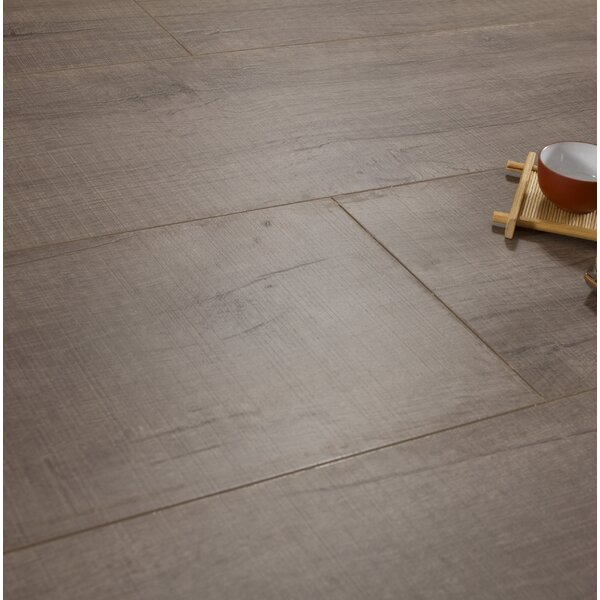Legno 8 x 48 x 12mm Laminate Flooring in Naples Pebble by Patina Design