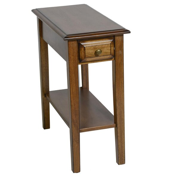 Seger End Table by Alcott Hill