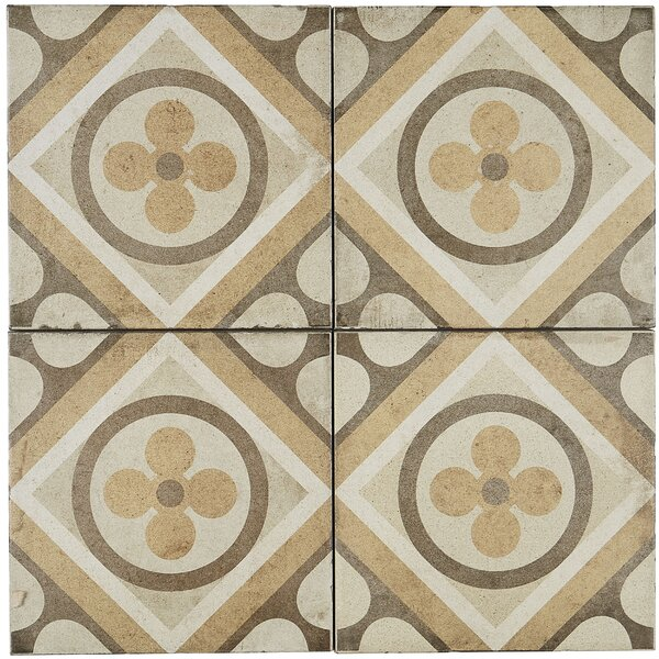 8 x 8 Porcelain Field Tile in Petalo by Itona Tile