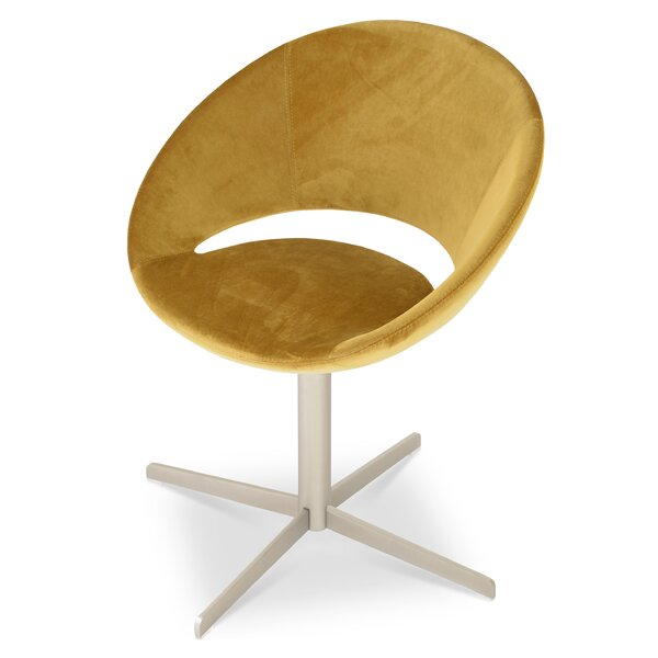 Crescent Swivel Papasan Chair By SohoConcept