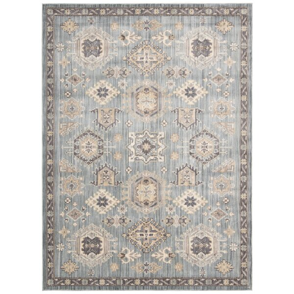 Frantz Seafoam Area Rug by One Allium Way
