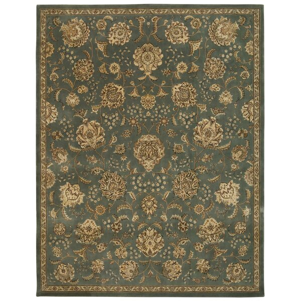 Greenwood Hand Woven Wool Mist Indoor Area Rug by Darby Home Co