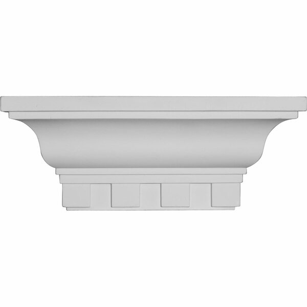 Dentil 4 1/2H x 12W x 4 1/8D Shelf by Ekena Millwork