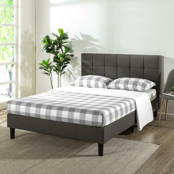 Gervais Upholstered Platform Bed by Ebern Designs